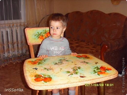 Столик(доделка)+стул фото 6