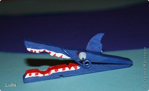 Еще одно творчество и как идея, чем можно занять ребенка! Корабль из деревянных прищепок!  фото 8