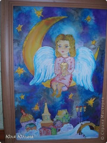 Ангелок - мой любимый батик