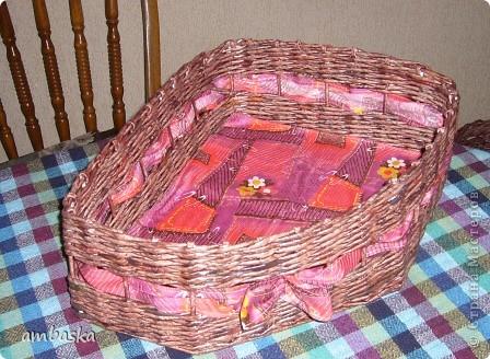 Потребовалась плетеночка вот такой формы - сплела. фото 1