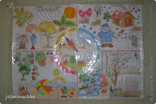 Времена года плакаты для детей своими руками 81