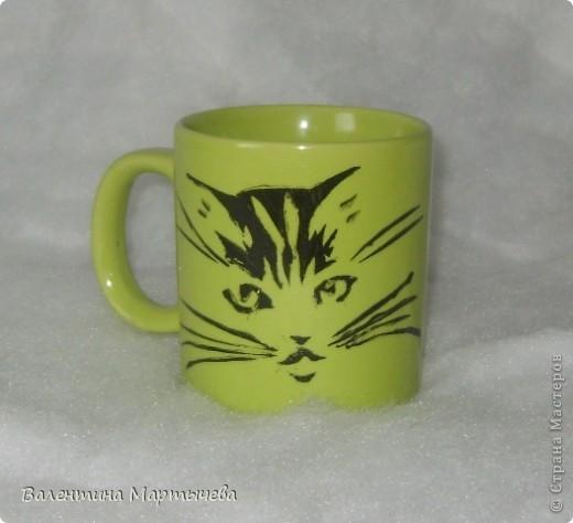 Спасибо мастерицам, меня очень выручили предоставленные ими трафареты котиков. фото 2