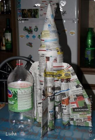 И снова мы с творчеством. Сделалась у нас ракета, теперь можно и в космос лететь! фото 5