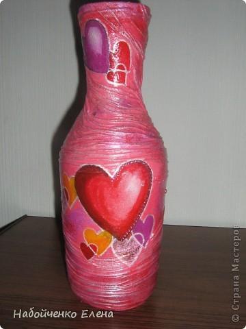 На ваш суд еще несколько ваз, капроновые колготки, краска акриловая, салфетки, стразы, микро бисер, бусины, декоративные камни, лак.  фото 10
