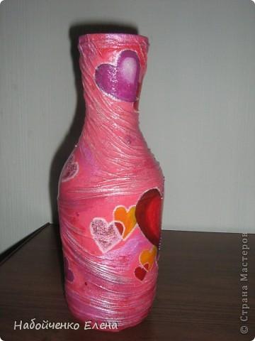 На ваш суд еще несколько ваз, капроновые колготки, краска акриловая, салфетки, стразы, микро бисер, бусины, декоративные камни, лак.  фото 12