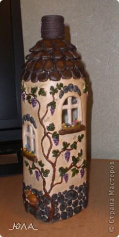 Весь дом расписывала гуашью, в краску добавляла капельку клея ПВА. фото 4