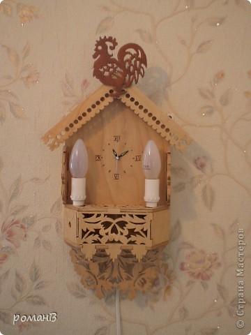 часы-ночник для детской комнаты