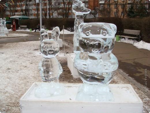 Вчера посетили выставку ледяных фигур. Очень понравилась.Получили массу приятных впечатлений. фото 15