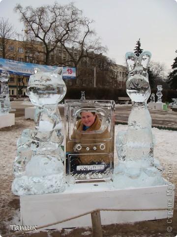 Вчера посетили выставку ледяных фигур. Очень понравилась.Получили массу приятных впечатлений. фото 1