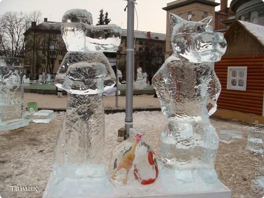 Вчера посетили выставку ледяных фигур. Очень понравилась.Получили массу приятных впечатлений. фото 21