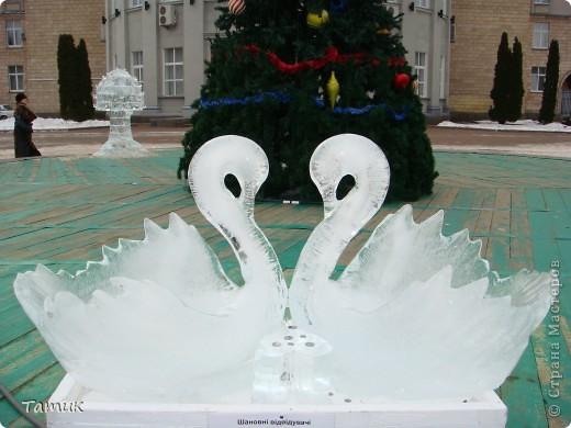 Вчера посетили выставку ледяных фигур. Очень понравилась.Получили массу приятных впечатлений. фото 19