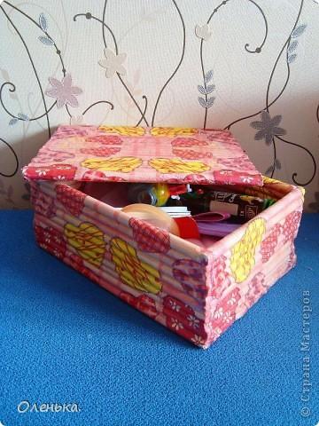Моя новоя коробка. Пока без крышки - картон весь закончился. фото 5
