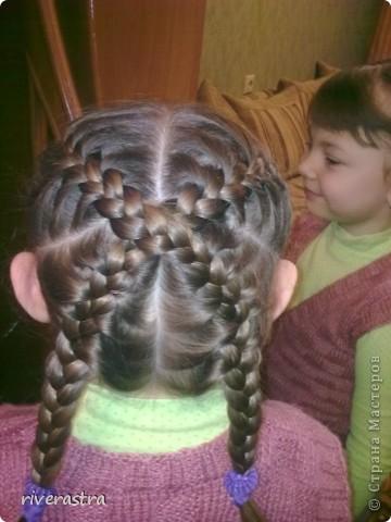 наша с дочкой любимая коса. и плетется быстро, и нарядно фото 1