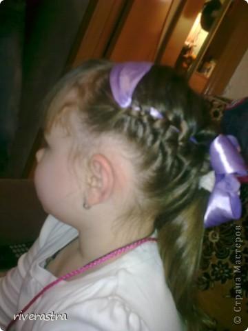 наша с дочкой любимая коса. и плетется быстро, и нарядно фото 4