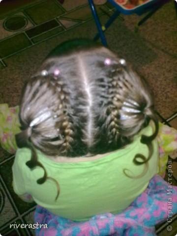 наша с дочкой любимая коса. и плетется быстро, и нарядно фото 3