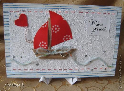 Давно с завистью поглядываю на покупные деревянные подставочки для демонстрации открыток - даже не знаю,как они называются ))) И вот- находка!!! фото 26