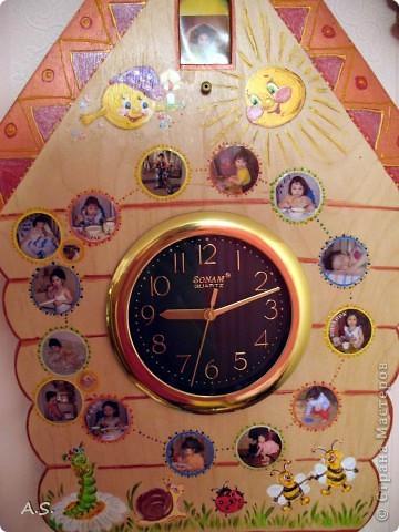 Такие часы я подарила дочке на 2 годика фото 3