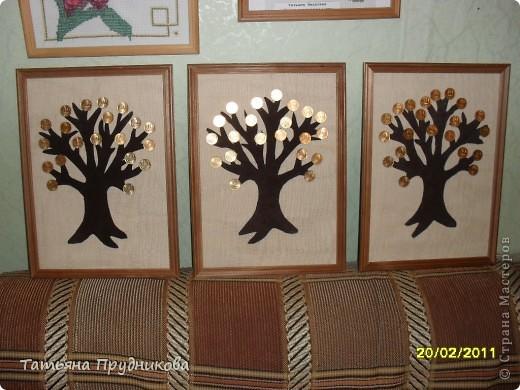 Спасибо огромное за идею Alex2218 ( http://stranamasterov.ru/node/137043?t=1082 )! Такое денежное дерево я сделала в подарок нашим мужчинам в Центре.  фото 2