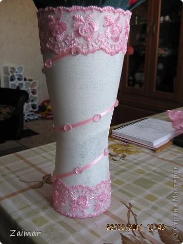 Девочки огромная просьба помогите свежим взглядом чего не хватает этой вазочке. Хочу сделать сладкий букет и подарить в этой вазе заведующей детсадом. Как вы думаете достойный подарок будет или что то другое сообразить. фото 2