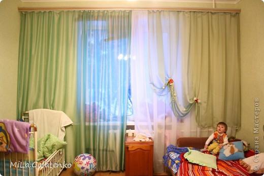шторы в нашу комнатушку))) фото 5