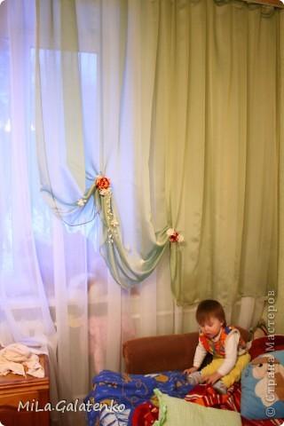 шторы в нашу комнатушку))) фото 4