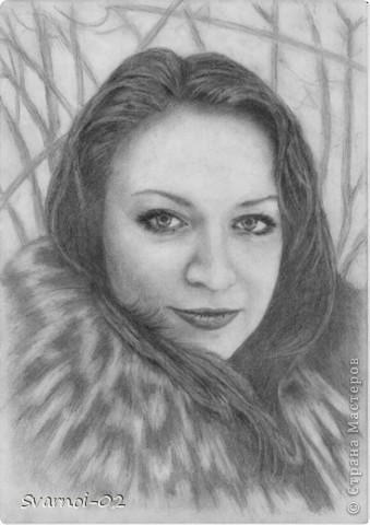 Признаюсь сразу, Это самый сложный портрет, который мне пришлось рисовать.... Еще много недочетов осталось, но это все на что я способен в данный момент, тем более что рисовал с аватарки!