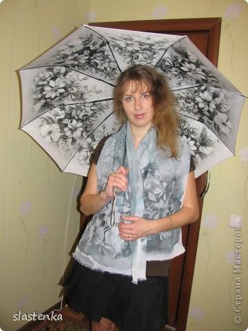 Не подшит правда пока. Делался в комплект под зонтик. фото 1