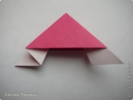 Еще одна весенняя кусудама. Модель Миюки Кавамуры. фото 14