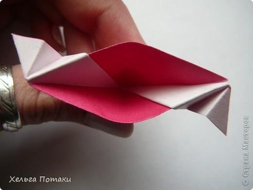 Еще одна весенняя кусудама. Модель Миюки Кавамуры. фото 19