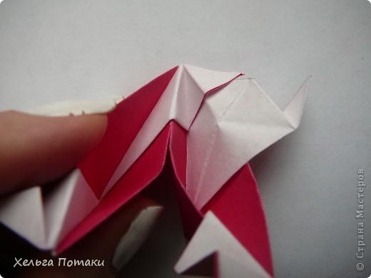Еще одна весенняя кусудама. Модель Миюки Кавамуры. фото 20