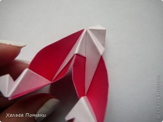 Еще одна весенняя кусудама. Модель Миюки Кавамуры. фото 21