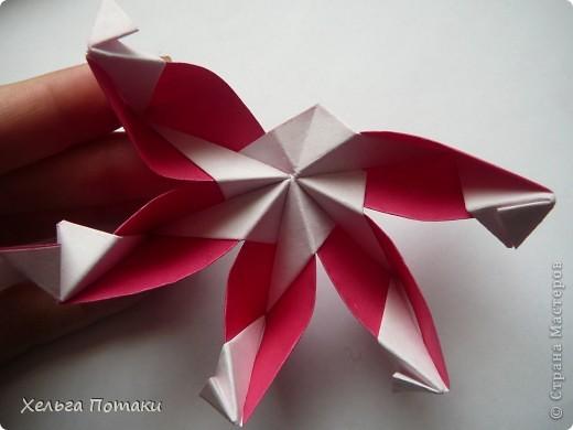 Еще одна весенняя кусудама. Модель Миюки Кавамуры. фото 22