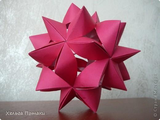 Еще одна весенняя кусудама. Модель Миюки Кавамуры. фото 2
