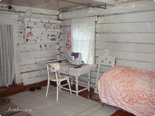 Вот так преобразилась древняя мебель в нашей деревеньке. фото 2