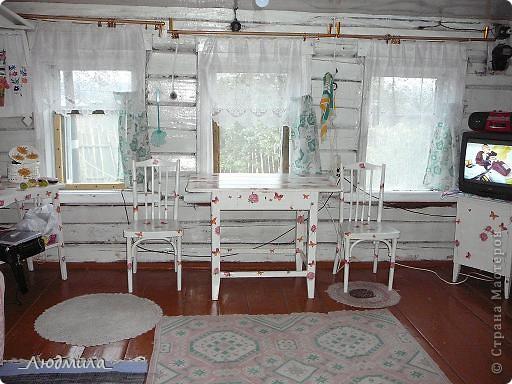 Вот так преобразилась древняя мебель в нашей деревеньке. фото 1