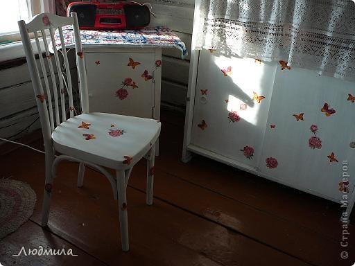 Вот так преобразилась древняя мебель в нашей деревеньке. фото 3