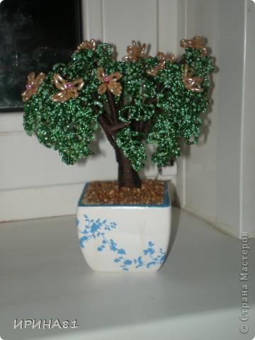 Деревья из бисера фото 1
