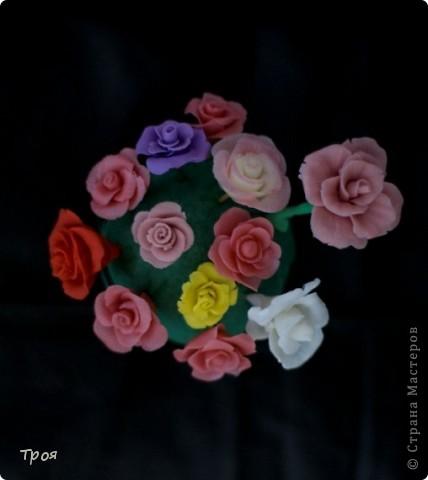 Маки, ромашки и еще какие-то невиданные цветы:) фото 4
