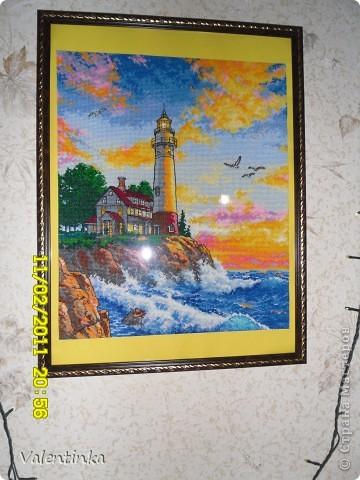 """Вышивка - это моё спасение после рабочего дня. Жаль, что не всегда хватает на это времени,ведь нужно всего столько успеть сделать. Вышивка крестом """"Беседка у моря""""  фото 22"""