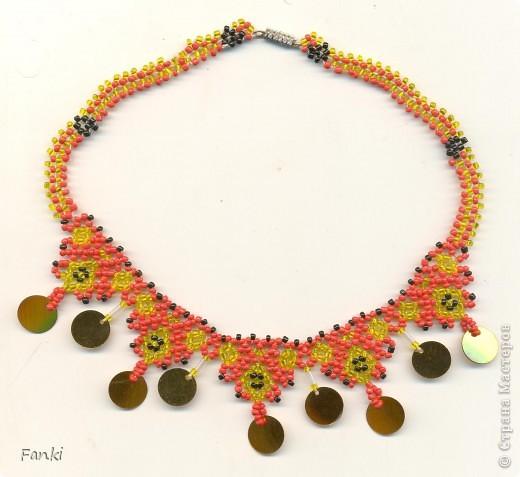 Ожерелье с народным орнаментом