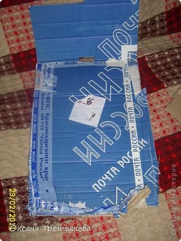 МК по пакетнице на картонном каркасе. фото 2