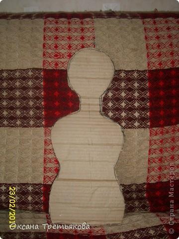 МК по пакетнице на картонном каркасе. фото 4