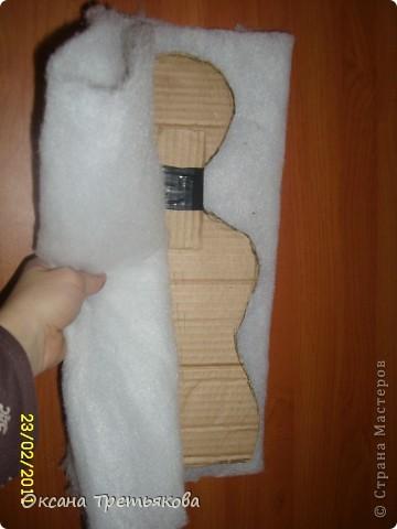 МК по пакетнице на картонном каркасе. фото 7