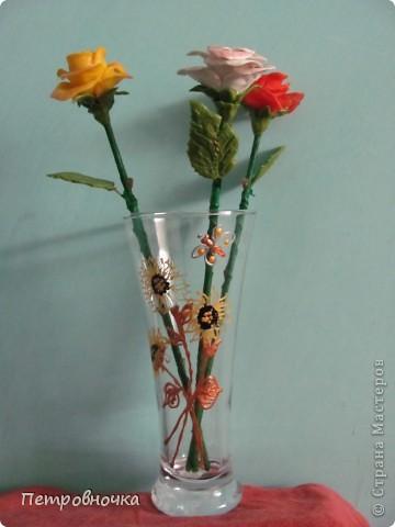 """Классные недорогие вазочки получаются из бокалов для пива. В """"Магните"""" стоят 25 рублей. Под свои маки расписала контурами по стеклу и витражными красками. фото 2"""
