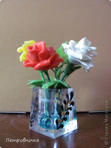 Продолжаю учиться лепить розы. Учусь варить фарфор. Эксперементирую с клеями. фото 3