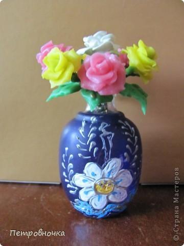 Продолжаю учиться лепить розы. Учусь варить фарфор. Эксперементирую с клеями. фото 7