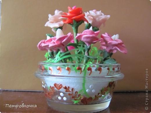 Продолжаю учиться лепить розы. Учусь варить фарфор. Эксперементирую с клеями. фото 8