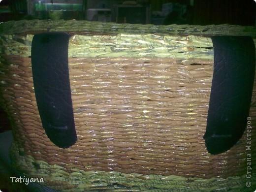 Вот такая получается корзинка-переноска. Хоть для животных, хоть еще для чего :) фото 8