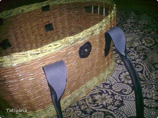 Вот такая получается корзинка-переноска. Хоть для животных, хоть еще для чего :) фото 11