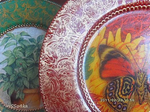 Набор тарелочек. фото 3